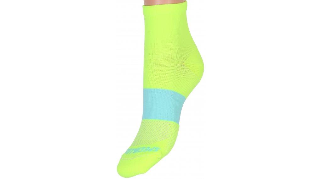 Specialized SL Mid Socken Damen Gr. M/L neon yellow