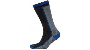Sealskinz Mid-Weight Mid Length Socken Gr. 36-38 (S) schwarz/grau/blau