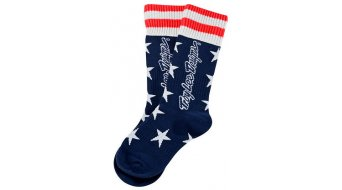Troy Lee Designs GP Liberty MX socks kids size M/L (4-6) navy
