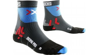 X-Bionic Pro Mid Socken Gr. 35/38 anthra/french blue