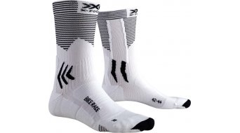 X-Socks Bike Race Socken Gr. 39-41 arctic white/opal black