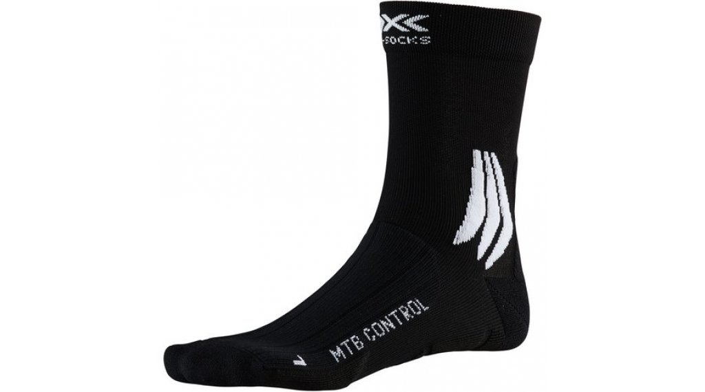 X-Socks MTB Control Socken Gr. 39-41 black Melange