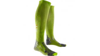 X-Bionic Effektor Performance calcetines Caballeros 35-38 GreenLime/Pearl grey