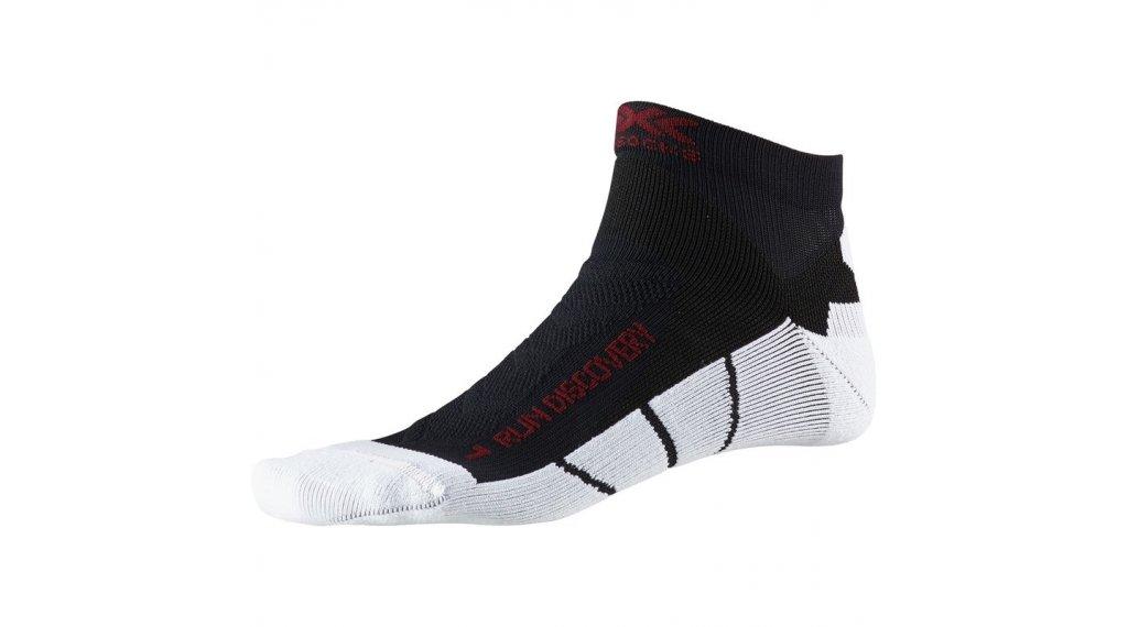 X-Socks Run Discovery Socken Gr. 45-47 black melange