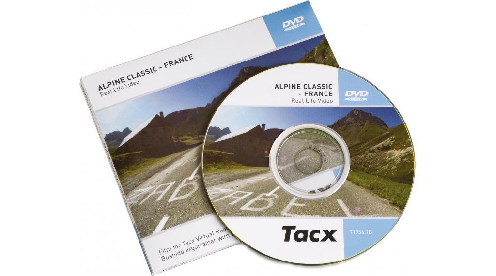 Tacx DVD Real Life Video Climbs Collection Giro del Mortirolo 2008- Italy