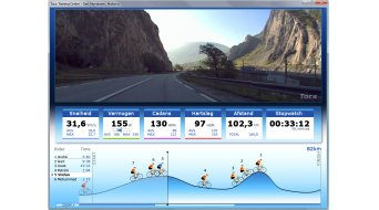 Tacx DVD Real Life Video Climbs Collection Giro del Mortirolo 2008- Italy (Imagen ejemplar))