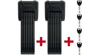 Abus Bordo granite X Plus 6500 bike lock folding lock Twin set 85cm-long black (incl. holder )