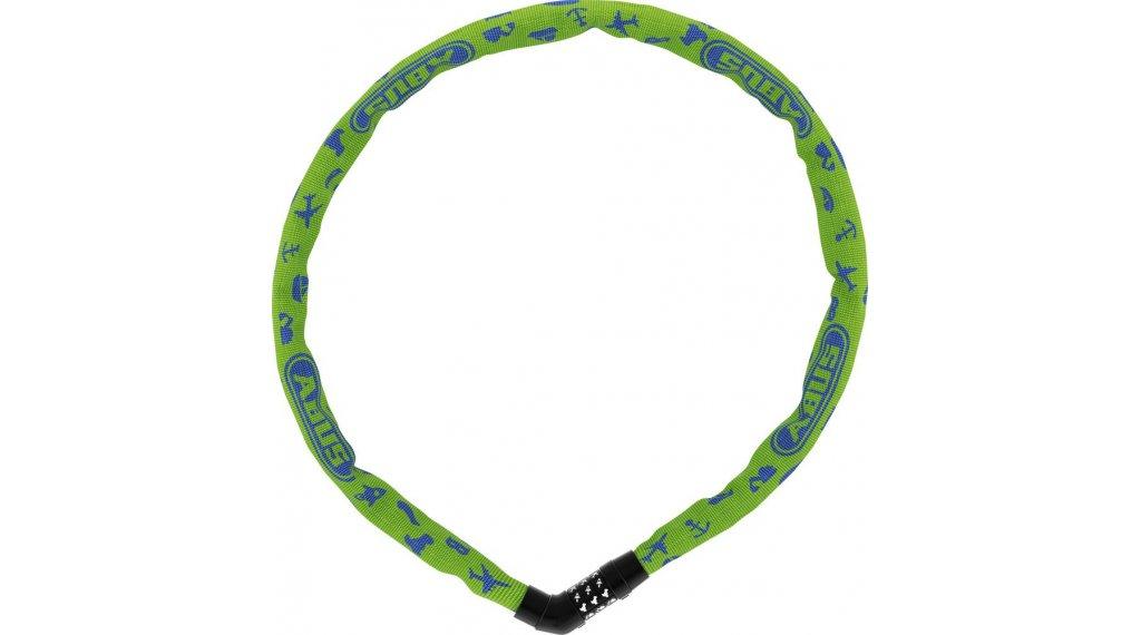 Abus Steel-O-Chain 4804C Symbos 自行车锁 链条-/密码锁 75厘米-长 青柠色