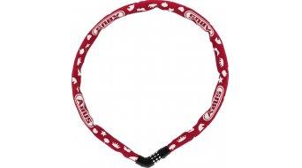 Abus Steel-O-Chain 4804C Symbos 自行车锁 链条-/密码锁 75厘米-长 red