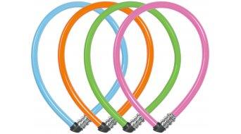 Abus 1100 Kids bike lock cable lock 55cm-long orange