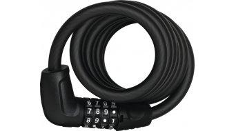 Abus Tresor 6512C candado para bicicleta cable(-s)-/candado de combinación 180cm-largo(-a) negro (incl. SR-soporte)