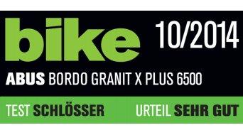 Abus Bordo Granit X Plus 6500 bici lucchetto lucchetto ripiegabile 85cm-lungo black (incl. borsa di trasporto)