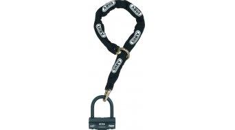 Abus granit 58 kolozámek řetězy-/U-zámek 120cm-dlouhý černá