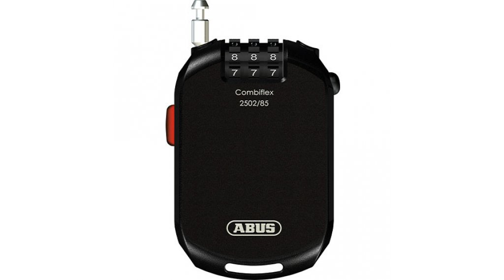 Abus Combiflex 自行车锁 导线-/密码锁 85厘米-长 black