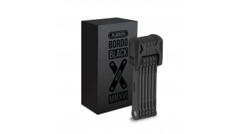 Abus Bordo Black Edition 6510 bike lock folding lock 85cm-long black (incl. transport bag )