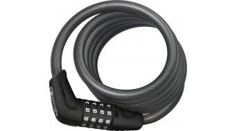 Abus Numero 5510C candado para bicicleta Spiralkabel-/candado de combinación 180cm-largo(-a) negro (incl. SCMU-soporte)