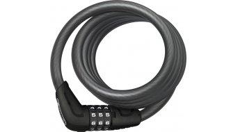 Abus Star 4508C bike lock Spiral cable-/Zahlen lock 150cm-long black
