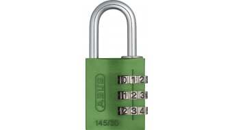 Abus 145/30 Zahlen Hang lock green