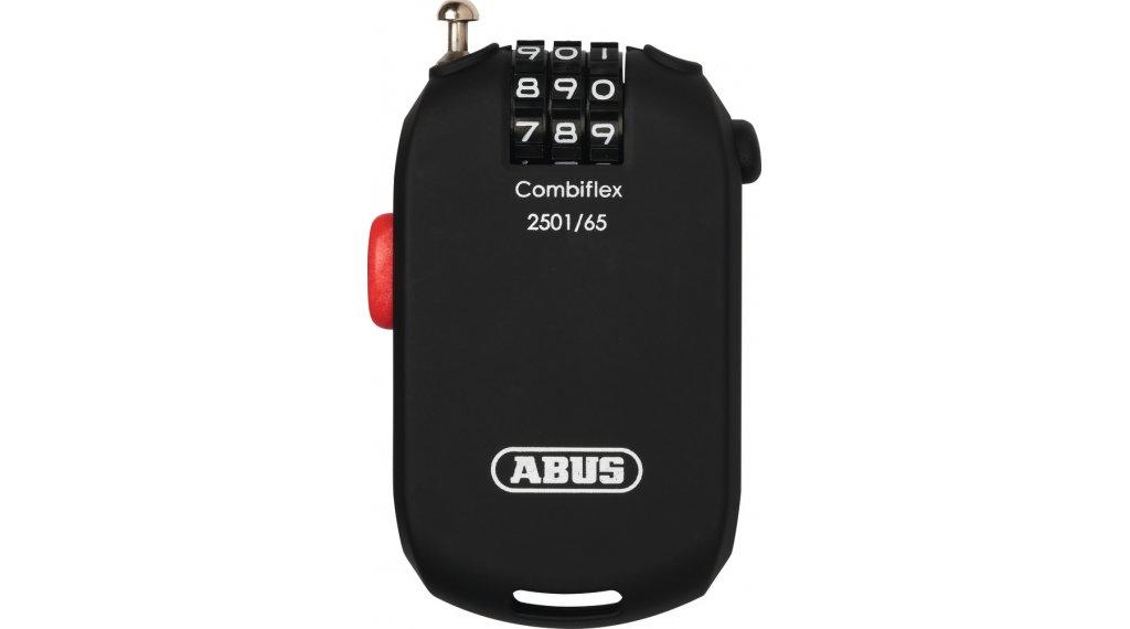 Abus Combiflex 自行车锁 导线-/密码锁 65厘米-长 black
