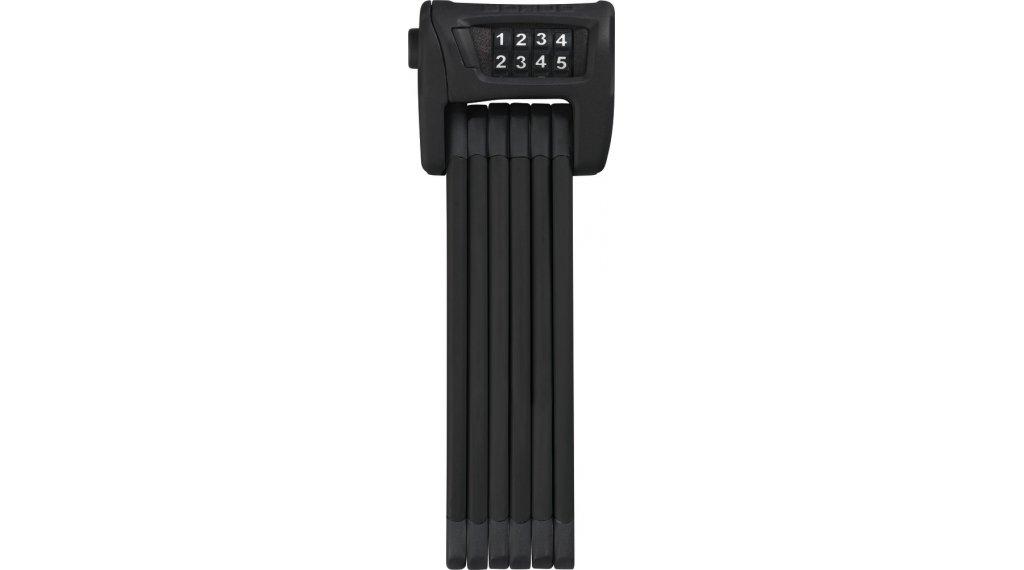Abus Bordo Combo 6100 Fahrradschloss Falt-/Zahlenschloss 90cm-lang black (inkl. Halterung)