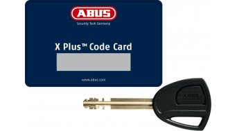 Abus Bordo Granit X Plus Big 6500 自行车锁 折叠锁 110厘米-长 black (含有底座)