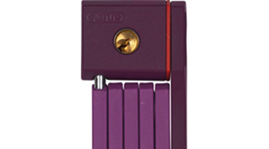 Abus uGrip Bordo 5700 自行车锁 折叠锁 80厘米-长 core purple