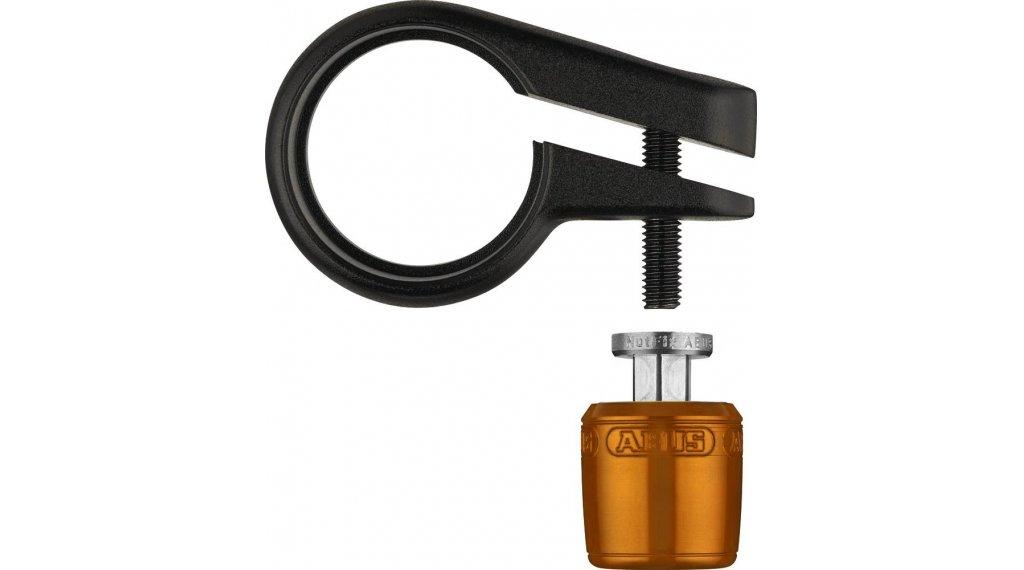 Abus Nutfix M5 鞍管sicherung 自行车锁 配件 30,0厘米 橙色