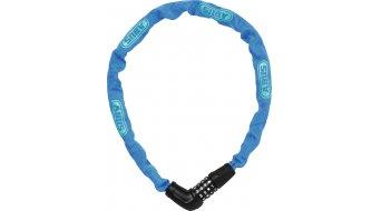 Abus Steel-O-Chain 5805C bike lock chain-/Zahlen lock 75cm-long blue