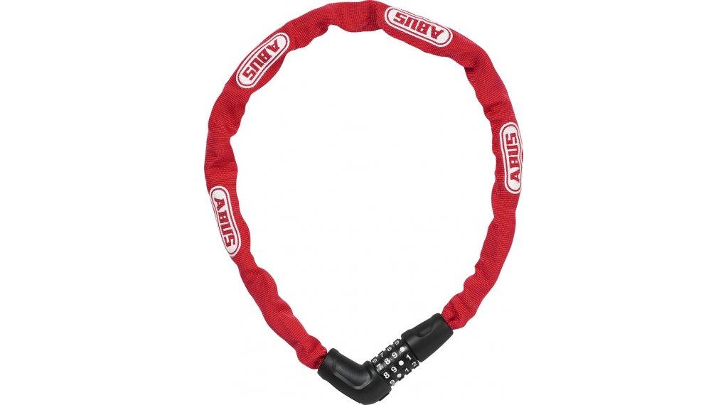 Abus Steel-O-Chain 5805C bike lock chain-/Zahlen lock 75cm-long red