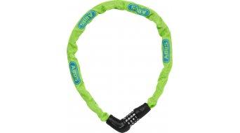 Abus Steel-O-Chain 5805C bike lock chain-/Zahlen lock 75cm-long lime