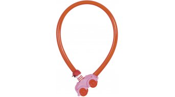 Abus My first Abus 1505 bike lock cable lock 55cm-long pink