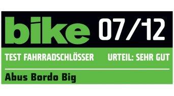 Abus Bordo Big 6000 自行车锁 折叠锁 120厘米-长 black (含有便携包)