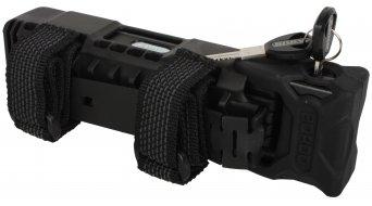 Abus Bordo 6000 自行车锁 折叠锁 90厘米-长 black (含有便携包)
