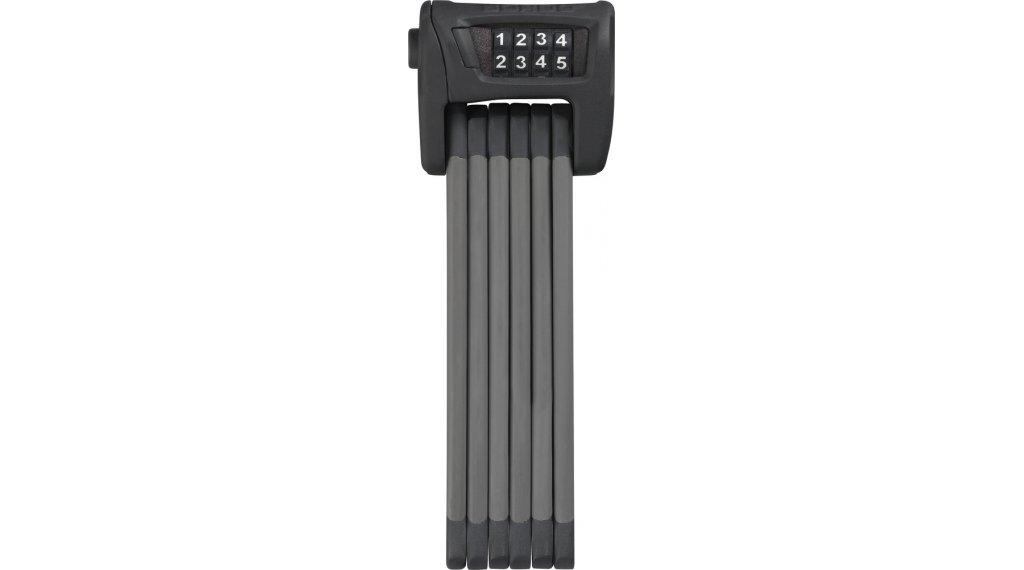 Abus Bordo Combo 6100 自行车锁 折叠/密码锁 90厘米-长 black (含有便携包)