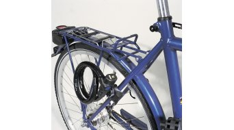 Abus TexKF mini-底座 自行车锁 配件 (适用于 640, 1460, 8950, 1450, 8940)