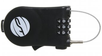 Contec wheelio Lock 1,6x1120mm Zahlen lock black