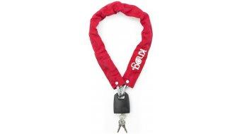 Knog Straight Jacket Fatty 自行车锁 链条连接锁 red