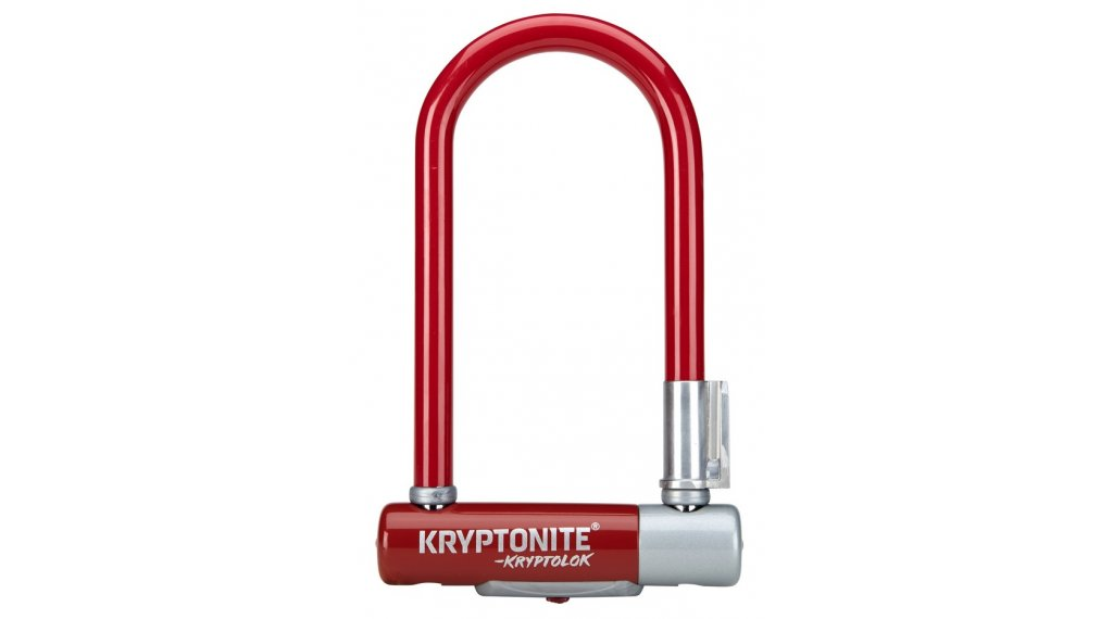 Kryptonite KryptoLok 2 Mini-7 Bügelschloss merlot