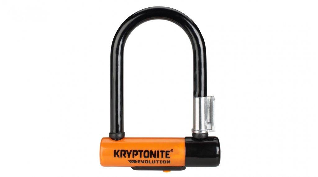 Kryptonite Evolution Mini-5 Bügelschloss 8mm x 14cm black/orange