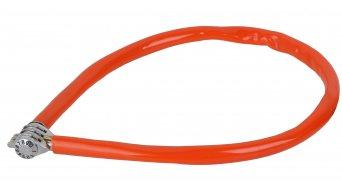Kryptonite Keeper 665 Combo Cable Kabelschloss Zahenschloss 6mm x 65cm orange