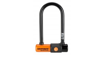 Kryptonite Evolution LITE Mini-6 Bügelschloss 7 x 15.2cm black/orange
