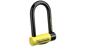 Kryptonite New York Fahgettaboudit Mini Bügelschloss 8.3mm x 15.3cm black/yellow