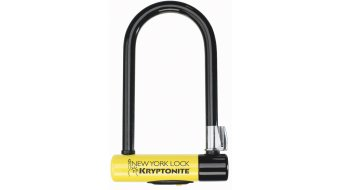 Kryptonite New York Lock Standard Bügelschloss 10mm x  20cm black/yellow