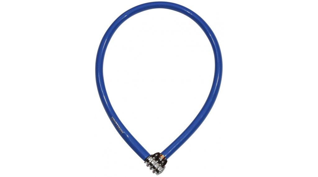 Kryptonite Keeper 665 Combo Cable Kabelschloss Zahenschloss 6mm x 65cm blue
