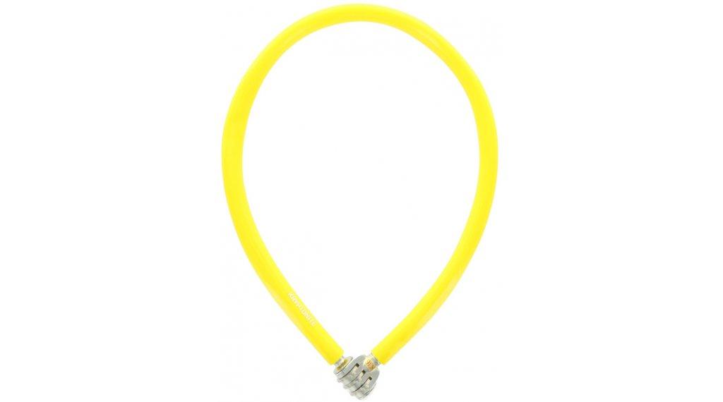 Kryptonite Keeper 665 Combo Cable Kabelschloss Zahenschloss 6mm x 65cm yellow