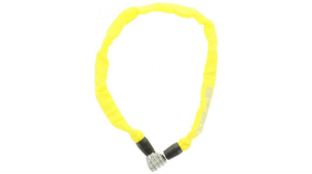 Kryptonite Keeper 465 Combo Chain Kettenschloss Zahenschloss 4mm x 65cm yellow