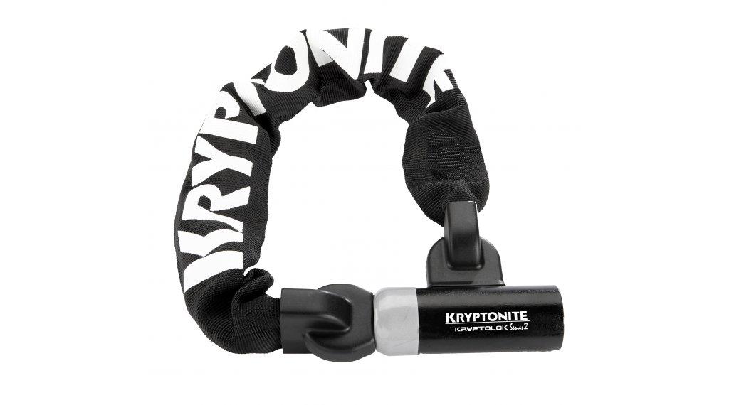 Kryptonite KryptoLok Series 2 I.C. 955 mini Kettenschloss 55cm-lang black/silver