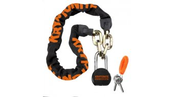 Kryptonite Messenger Chain & Moly 100cm cerradura de cadenas negro(-a)