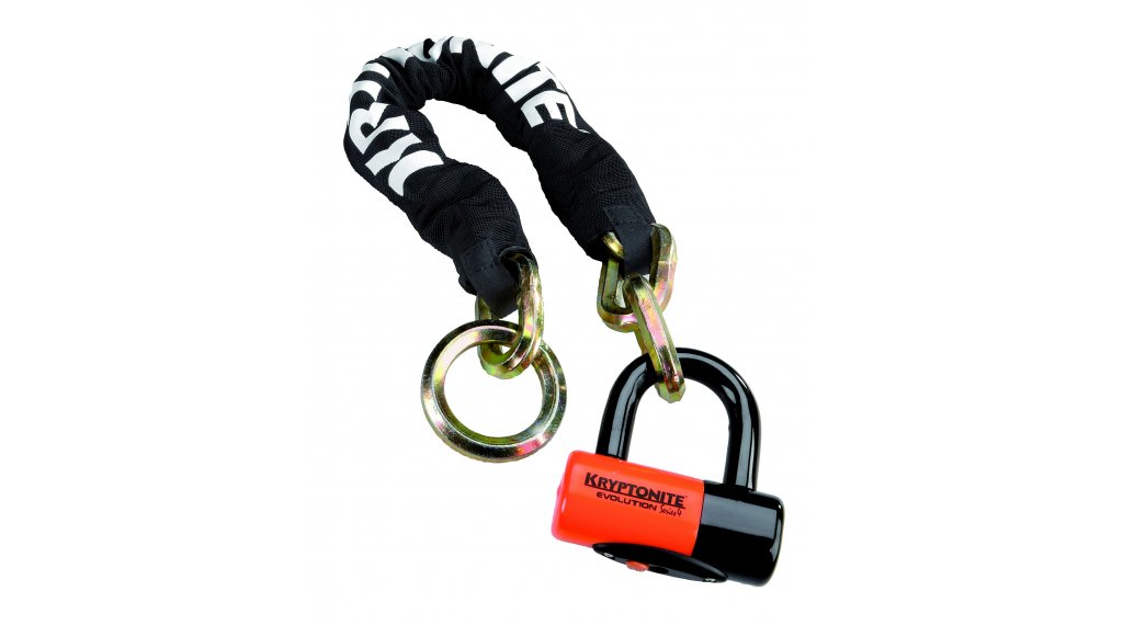 Kryptonite New York Noose1275 Kettenschloss 75cm-lang + Evolution 4 Disc Lock