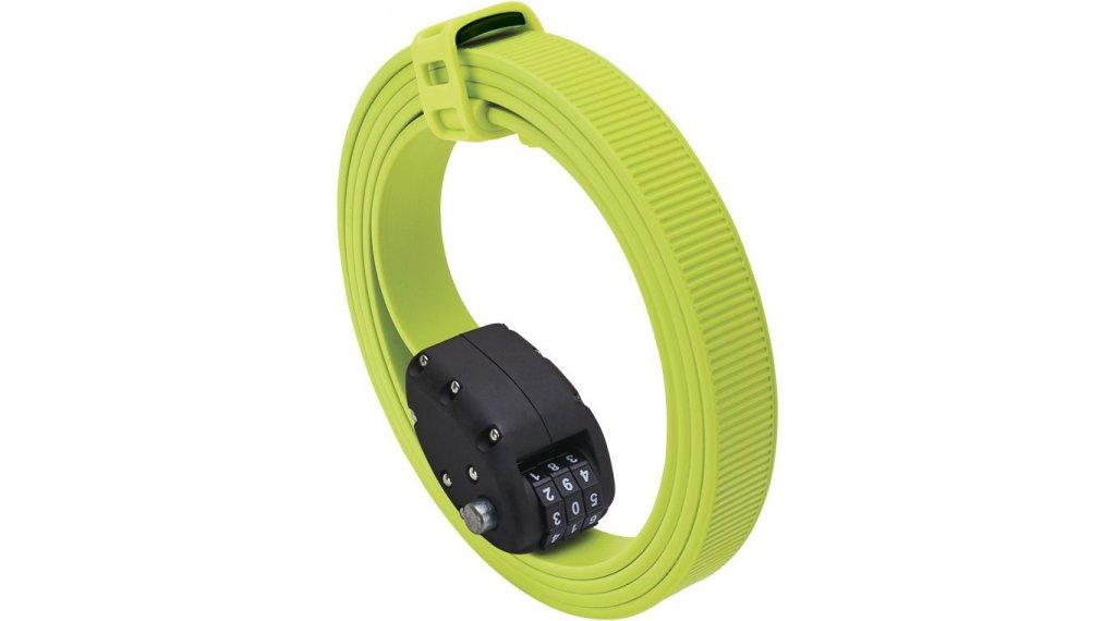 OTTO DesignWorks Ottolock Cinch Lock Kabelschloss Zahlenschloss 152cm-lang flash green